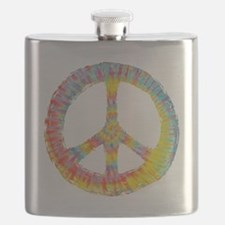 tiedye-peace-713-DKT Flask
