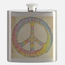 tiedye-peace-713-PLLO Flask