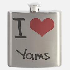 I love Yams Flask