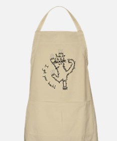 kitty_back_dark Apron