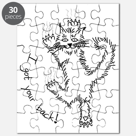 kitty_back_dark Puzzle