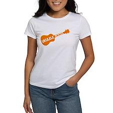 orange ukulele rocks T-Shirt