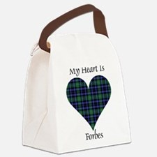 Heart - Forbes dress Canvas Lunch Bag