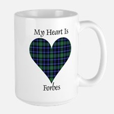 Heart - Forbes dress Ceramic Mugs