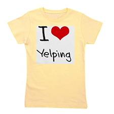 I love Yelping Girl's Tee