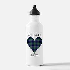 Heart - Forbes dress Sports Water Bottle