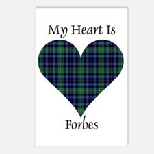 Heart - Forbes dress Postcards (Package of 8)