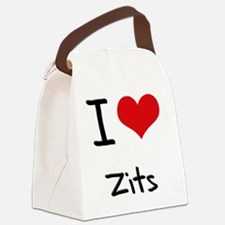 I love Zits Canvas Lunch Bag
