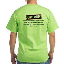 Marathon Runner's T-Shirt