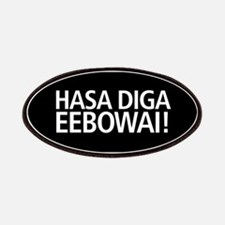 48 HR SALE! Hasa Diga Eebowai Patch