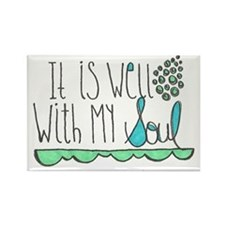It Is Well with My Soul Rectangle Magnet