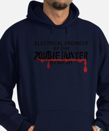 Zombie Hunter - Electrical Engineer Hoodie (dark)