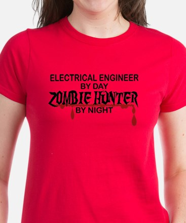 Zombie Hunter - Electrical Engineer Women's Dark T