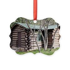 Log cabin, Grand Canyon North Rim Ornament