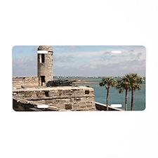 Castel San Marco Fort, St A Aluminum License Plate