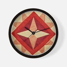 Mississippi Star Wall Clock