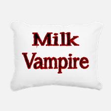 MILK VAMPIRE 2 Rectangular Canvas Pillow