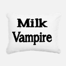 MILK VAMPIRE Rectangular Canvas Pillow