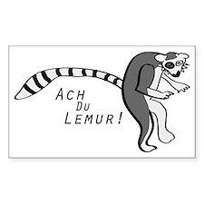 Ach Du Lemur! Decal