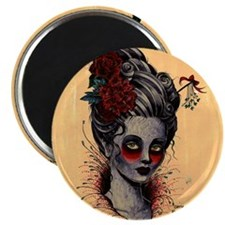 Crimson Lady cushion Magnet