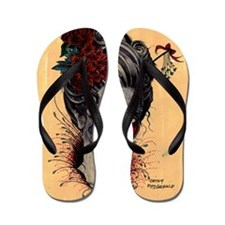 Crimson Lady cushion Flip Flops