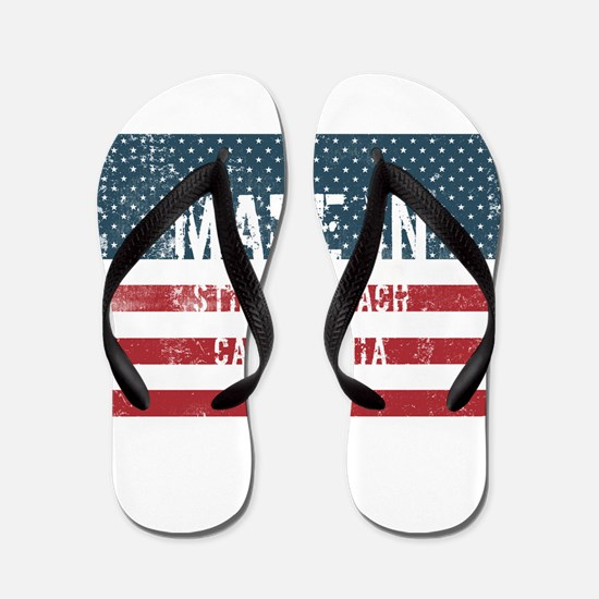 Made in Stinson Beach, California Flip Flops