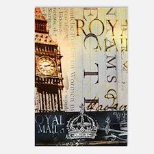 vintage big ben London ty Postcards (Package of 8)