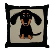 doxiemessenger Throw Pillow
