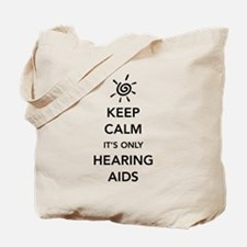 It's Only Hearing Aids Tote Bag