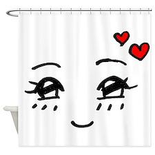 Cute Faces Shower Curtain