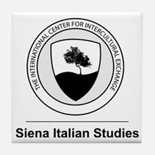 Siena Italian Studies Large Logo Tile Coaster