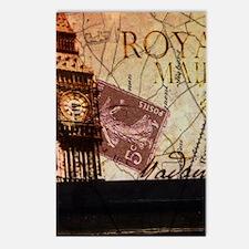 vintage big ben London ma Postcards (Package of 8)