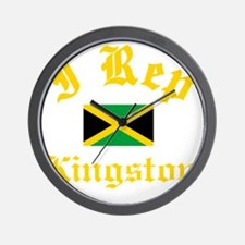 I Rep Kingston Wall Clock