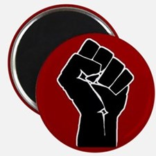 Red Solidarity Salute Magnets