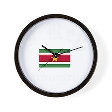 I Rep Paramaribo Wall Clock