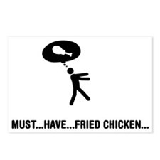 Fried-Chicken-A Postcards (Package of 8)