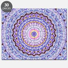 Heart Joy Mandala Kaleidoscope Pattern Puzzle