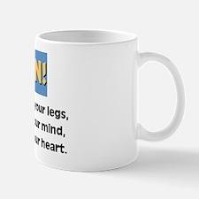 Run with your heart Mug