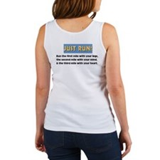 Run with your heart Women's Tank Top