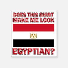 "Does This Shirt Make Me Loo Square Sticker 3"" x 3"""
