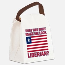 Does This Shirt Make Me Look Libe Canvas Lunch Bag