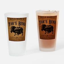 Yaks Bend Logo Drinking Glass