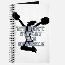 Cheerleader we sparkle Journal