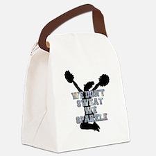 Cheerleader we sparkle Canvas Lunch Bag