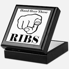 Hand over those ribs Keepsake Box