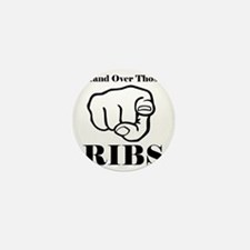 Hand over those ribs Mini Button