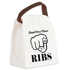 Hand over those ribs Canvas Lunch Bag