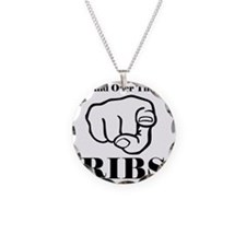 Hand over those ribs Necklace