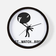 Bird-Watching-C Wall Clock