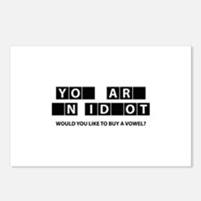 Would You Like To Buy A Vowel? Postcards (Package